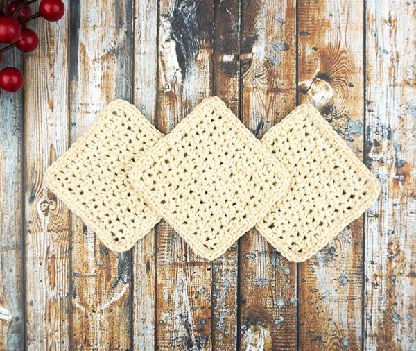 Abschminkpads aus Bio-Baumwolle