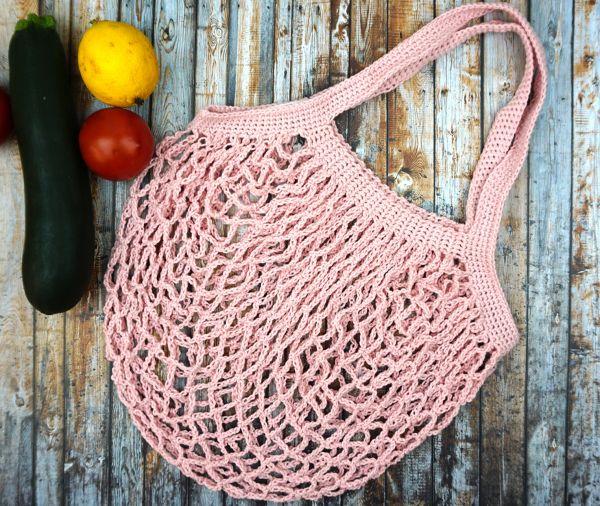 Einkaufsnetz aus Bio-Baumwolle